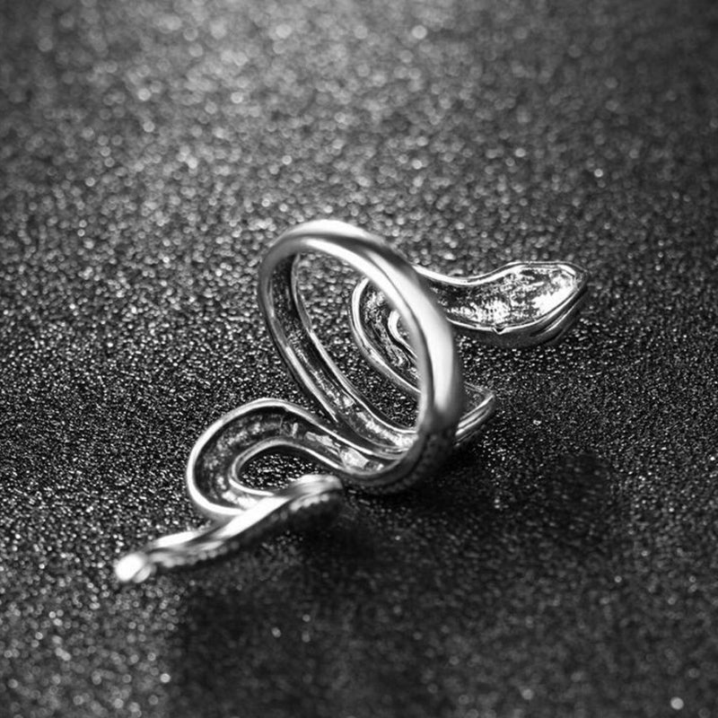 Punk Gothic Snake Rings