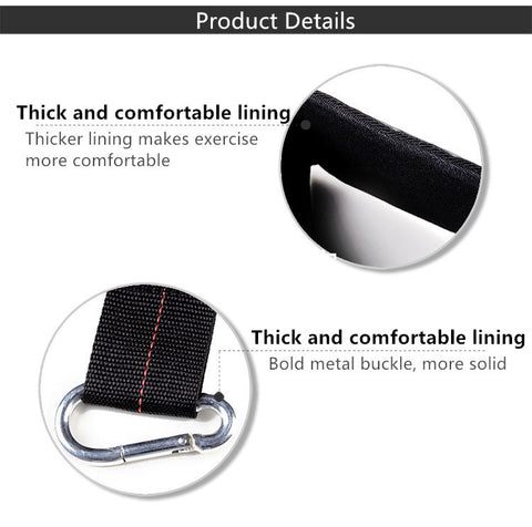 Image of 1 Pair Pull up Bar AB Sling Suspension Hanging Straps Belts