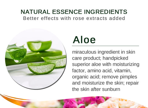 Skin Care Aloe Vera Gel Essence Acne Treatment