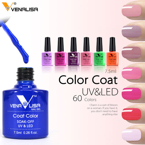 Image of Gel Varnish Lacquer Nail Art DIY 60 Colors