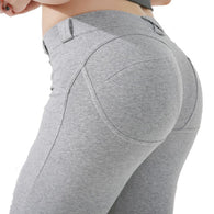 Low Waist Sexy Hip Push Up Legging