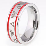 The Legend of Zelda Tungsten Wedding Ring