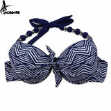 Brazilian Push Up Halter Bikini Set
