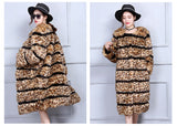 Faux Fur Fluffy Winter Leopard Furry Jackets