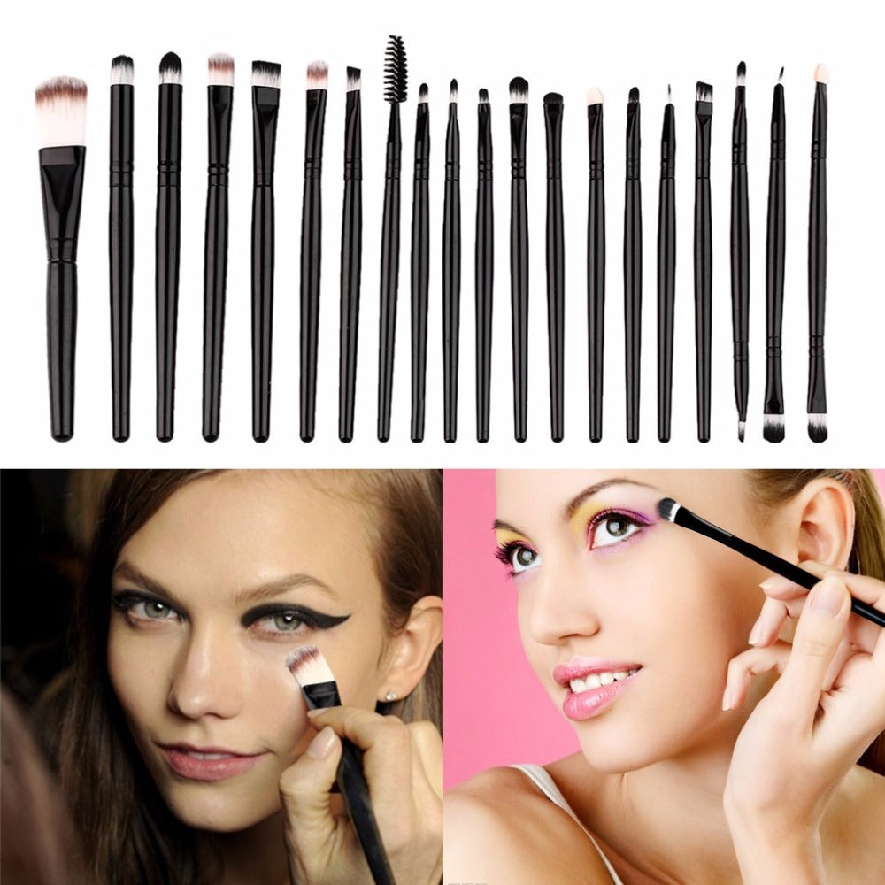 Eye Makeup Brushes Set Eyeliner Eyeshadow Blending Brushes