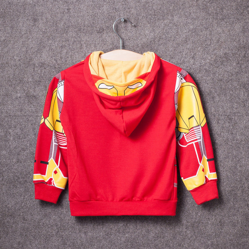 My Kids Boy's Coat Avengers Hoodies - sweater