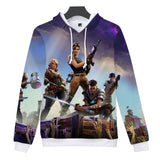Fortnite 3D Casual Hoodies Sweatshirt