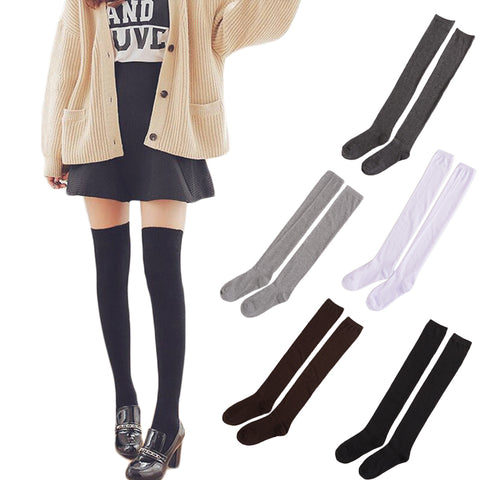Warm Thigh High Over the Knee Socks