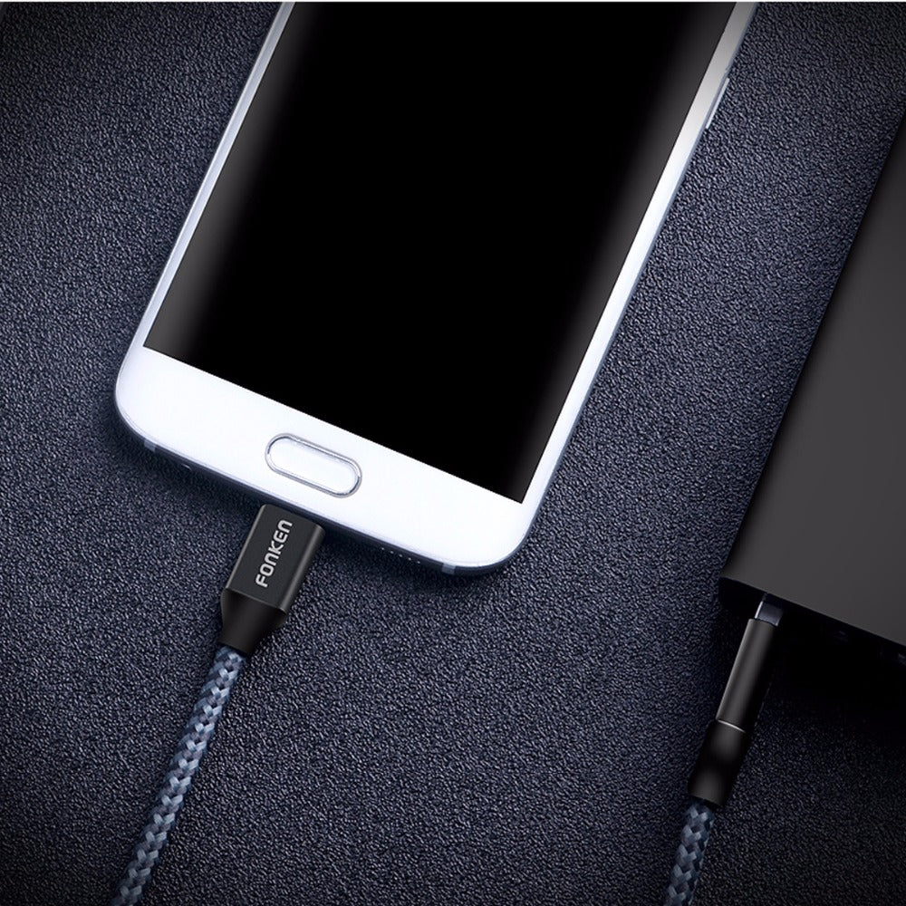 Micro USB Cable Quick Charger 2128AWG QC3.0 2.4A Charging Data Cord