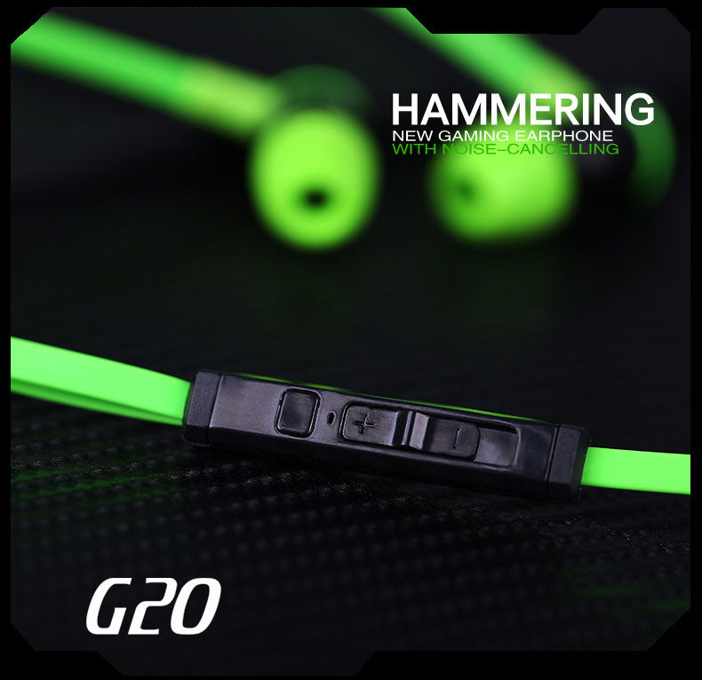 Supersonic G20 Hammerhead Stereo Bass Headphones With Microphone