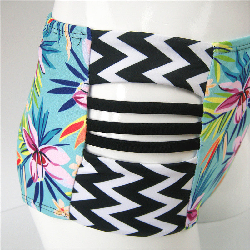 Push Up High Waist Swimsuit