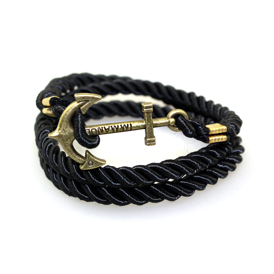 Vintage Retro Anchor Bracelets