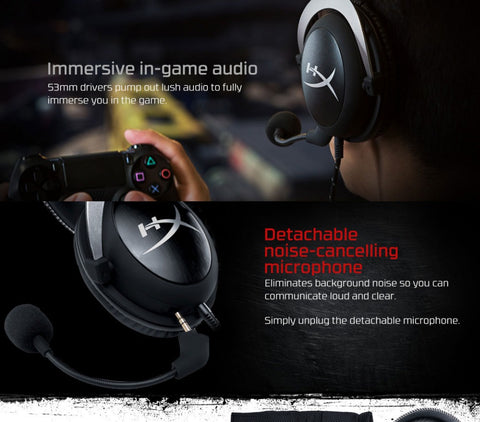 HyperX Cloud Series Gaming Headset With Microphone