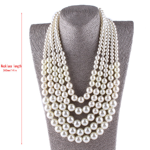 Image of Pearl Beads Necklace