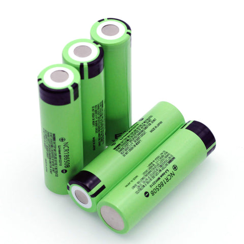 Original NCR18650B 3.7 v 3400 mah 18650 Lithium Rechargeable Battery For Panasonic