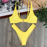 Sexy Bandage Bathing Suits Bikinis