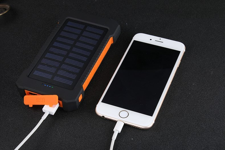 Waterproof Solar Power Bank 20000mah
