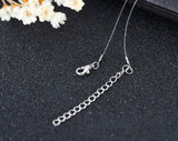 Invisible Fish Line Crystal Choker Necklace