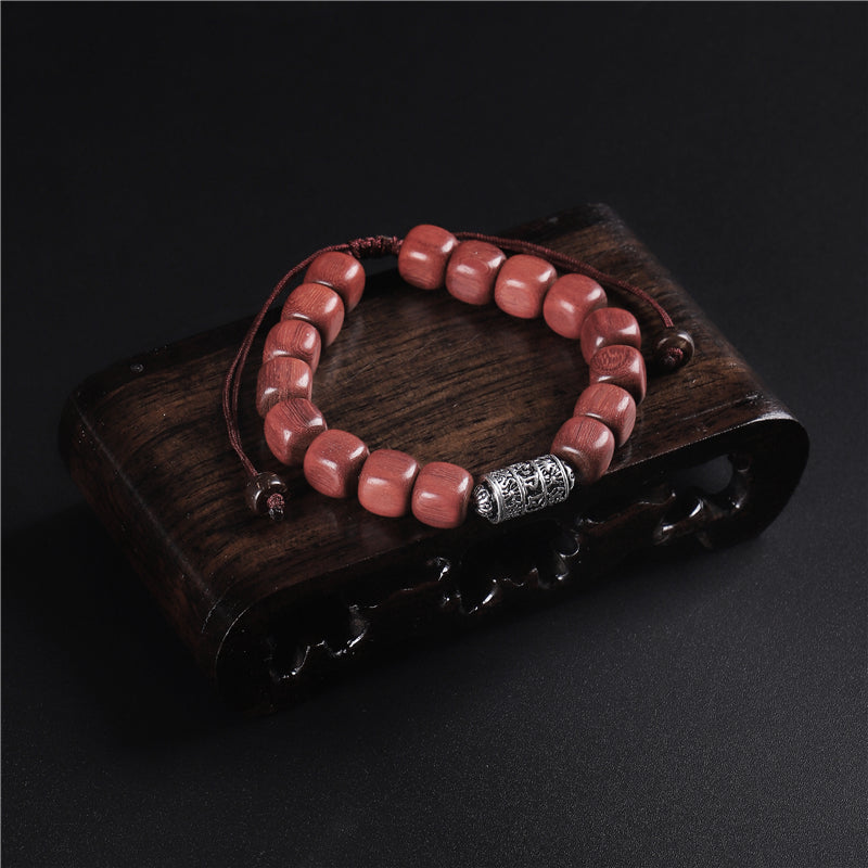 Natural Dark Sander Wood Bracelet