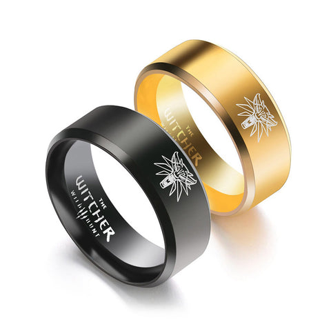 Image of Medallion Winterfell Wolf Rings