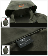 Big Shark Skin Military Jacket