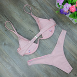 High Cut Thong Bathing Suit