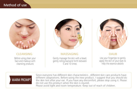 Image of Snail Eye Cream Remove Dark Circle Anti-Aging Wrinkle Essence Moisturize Hydrating