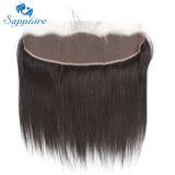 Brazilian Straight Hair Bundles With Frontal Closure Human Hair