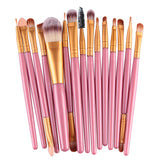 15pcs Makeup Professional Eyebrow Blusher