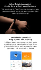 Original Xiaomi Mi Band 3 Smart Wristband Bracelet Band 3 OLED 128 x 80 Touch Screen