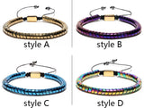 Hematite Customized Can Be Engrave Logo Trendy Fortnite Riverdale Bracelets