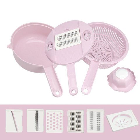 Manual Vegetable Mandoline Shredder