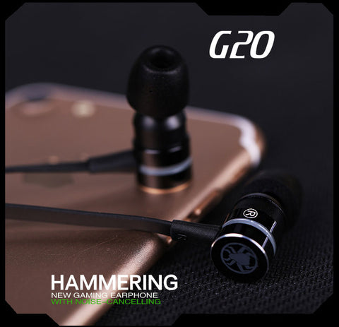 Image of Supersonic G20 Hammerhead Stereo Bass Headphones With Microphone