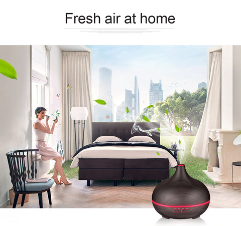 Image of 300ml Air Humidifier Essential Oil Diffuser