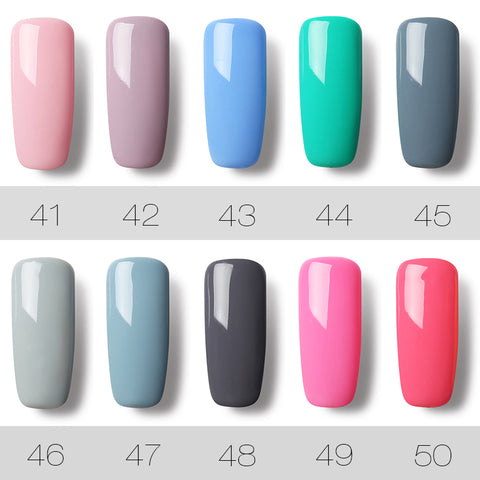 Image of 29 COLORS 7ML Gel Nail Polish Nail Art UV LED Gel Lacquer For Nail Extension