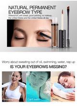 Natural Eyebrow Tint Kit Pigment Waterproof Eyebrow Enhancer Gel