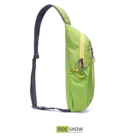 Unisex Waterproof Nylon Chest Bag