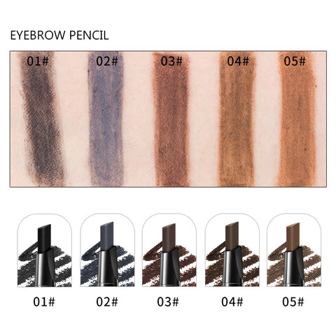 Image of 3 in 1 Waterproof Brow Pencil + Powder + Brush Pigment Black Brown Eyebrow Kit