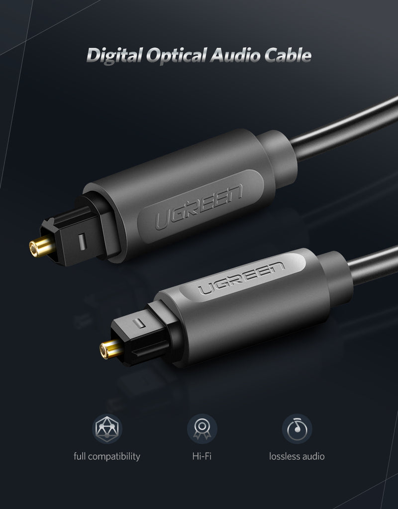 Digital Optical Audio Cable Toslink 1m 3m SPDIF Coaxial Cable for Amplifiers Blu-ray CD DVD Player Xbox 360 PS3 Soundbar