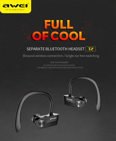 Image of T2 Wireless Bluetooth Earphone