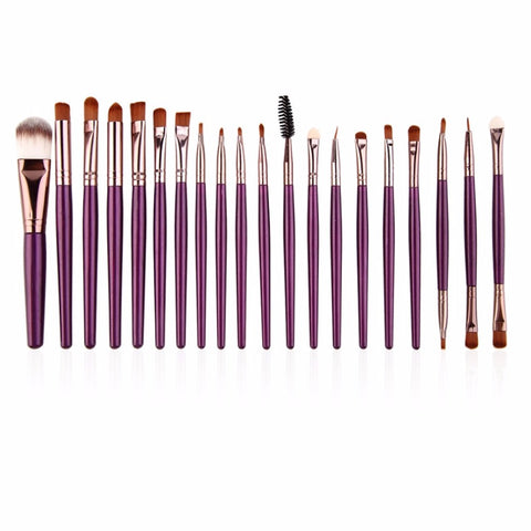 Image of Eye Makeup Brushes Set Eyeliner Eyeshadow Blending Brushes