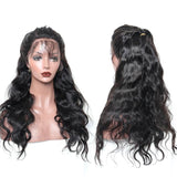 250% Density 13x6 Lace Front Human Hair Wigs For Women With Baby Hair