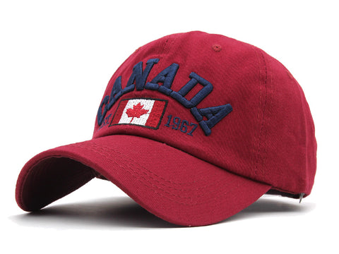 Men & Women Baseball Snapback Caps Embroidery Canada Bone Hat