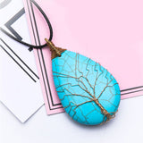 Tree Life Pendant Chain Necklace