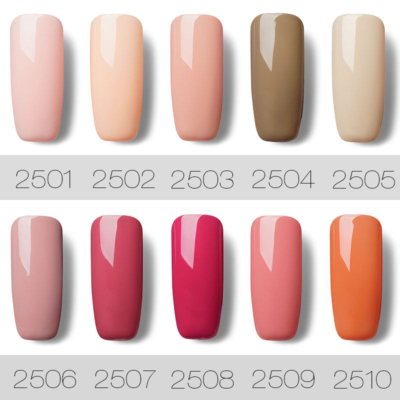 7ML Nail Polish Gorgeous Color Nail Gel Polish