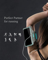 Water Resistant Cell Phone Sports Armband with Card & Key Holder