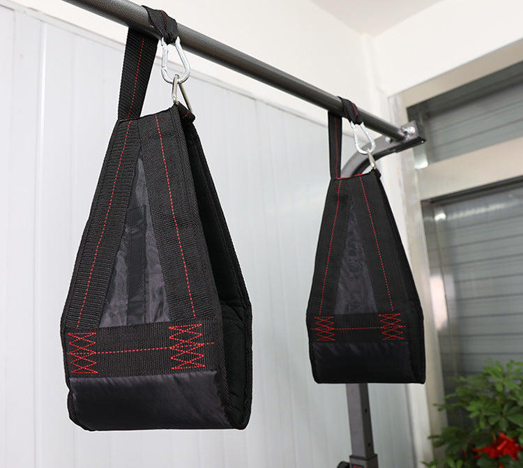 1 Pair Pull up Bar AB Sling Suspension Hanging Straps Belts