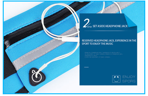 Image of Sport Packs For Music With Headset Hole-Fits Smartphones