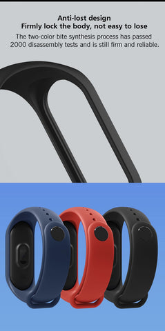 Image of Xiaomi MiBand 3 Mi band 3 Fitness Tracker Heart Rate Monitor 0.78'' OLED Display Touchpad Bluetooth