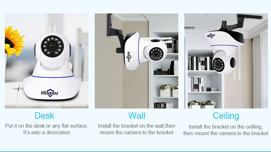 Home Security 720P 1080P Wifi IP Camera